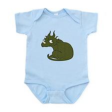 Baby Styracosaurus Body Suit