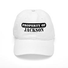 Property of Jackson Baseball Cap