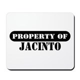 Property of Jacinto Mousepad