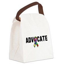 Awareness tee advocate Autism white.png Canvas Lun