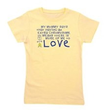 Awareness tee More 2 Love mommy.png Girl's Tee