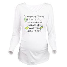 extra chromosome Long Sleeve Maternity T-Shirt