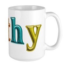 Kathy Shiny Colors Mugs