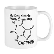 Molecular Caffeine Coffee Mugs
