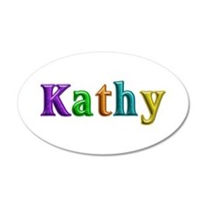 Kathy Shiny Colors Wall Decal