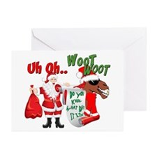 Uh Oh Hump Day Christmas Greeting Cards (Pk of 10)