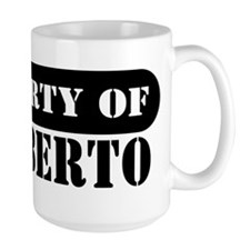 Property of Heriberto Mug