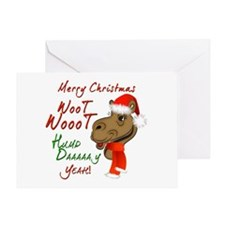 Merry Christmas Woot Woot Camel Greeting Card