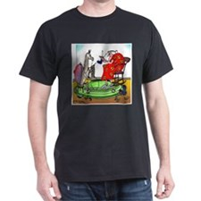 Llama Knitting T-Shirt