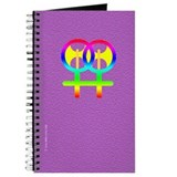 Rainbow Lesbian Labyris Journal - purple