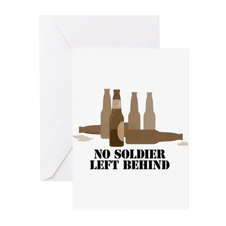 Fallen Soldier/Beer Drinker's Greeting Cards (Pack