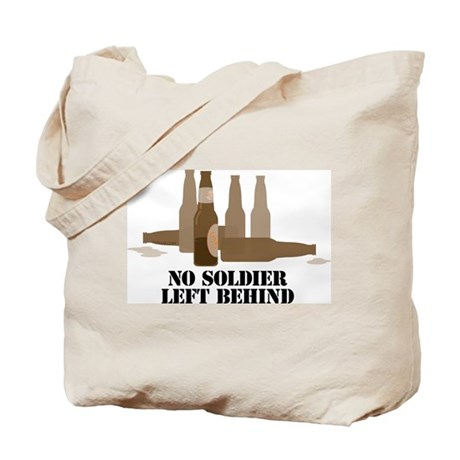 Fallen Soldier/Beer Drinker's Tote Bag