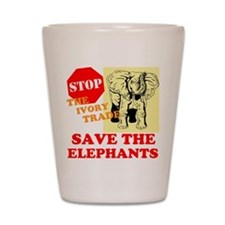 Ivory Trade Shot Glass