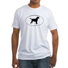 Labrador Oval Text Shirt