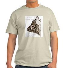 Timber Wolf Ash Grey T-Shirt