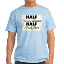 Half Planning Engineer Half Rock Star T-Shirt