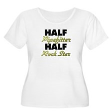 Half Pipefitter Half Rock Star Plus Size T-Shirt