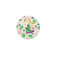 I Love To Skate Mini Button (10 pack)