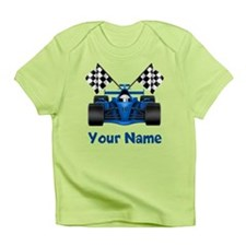 Race Car Personalized Infant T-Shirt
