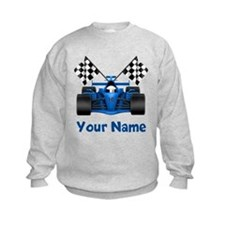 Race Car Personalized Sweatshirt