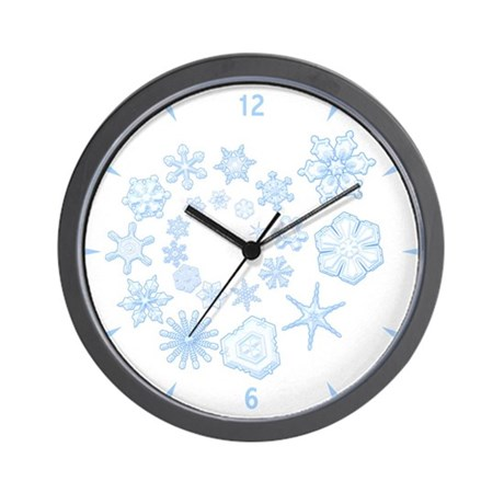 Flurry Wall Clock