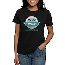 1971 Birthday Vintage Chrome Tee