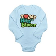 I Love My Big Sister Baby Outfits
