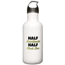 Half Nutritionist Half Rock Star Water Bottle