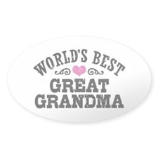 World's Best Great Grandma Decal