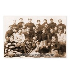 1895 Dartmouth Football Postcards (Package of 8)