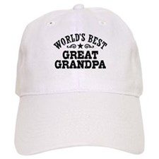 World's Best Great Grandpa Hat