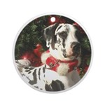 Holiday Harl Tree Ornament (Round)
