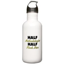 Half Methodologist Half Rock Star Water Bottle