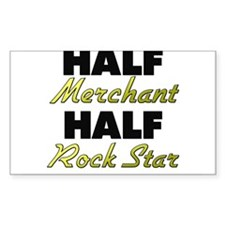 Half Merchant Half Rock Star Decal