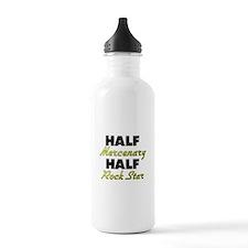 Half Mercenary Half Rock Star Water Bottle