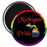 "Michigan Pride 2.25"" Magnet (10 pack)"