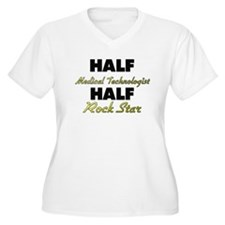 Half Medical Technologist Half Rock Star Plus Size