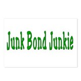 Junk Bond Junkie Postcards (Package of 8)