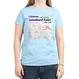 Celebrate Euler Women's Light Color T-Shirt