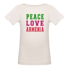 Peace Love Armenia Tee