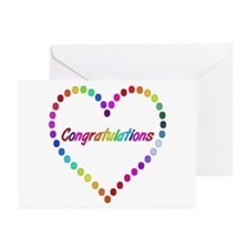 Rainbow Congratulations Greeting Cards