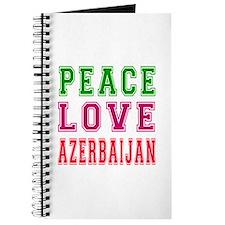 Peace Love Azerbaijan Journal