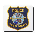 Warwick Police Mousepad