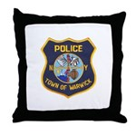 Warwick Police Throw Pillow
