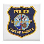 Warwick Police Tile Coaster