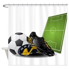 Soccer - Football - Sport Shower Curtain