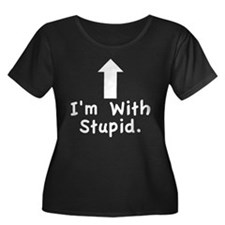 Im With Stupid Plus Size T-Shirt
