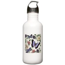 Heather Myers 093 FLORAL 4a Water Bottle