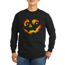 PUMPKIN FACE Long Sleeve T-Shirt