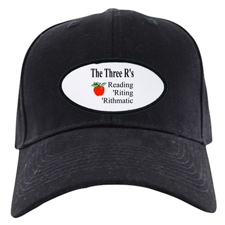 The Three R's Black Cap